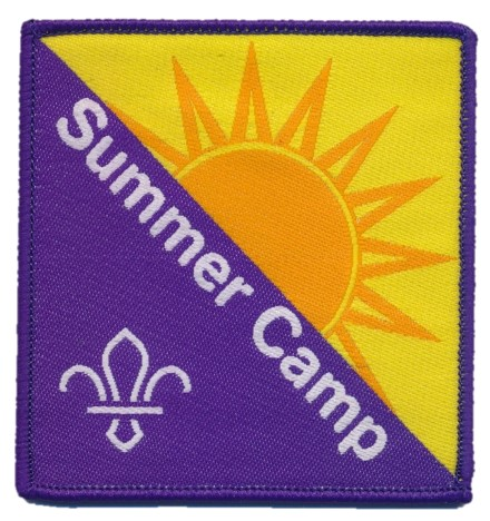 Summer Camp OFFICIAL SUPPLIER. Scouting Fun Badge